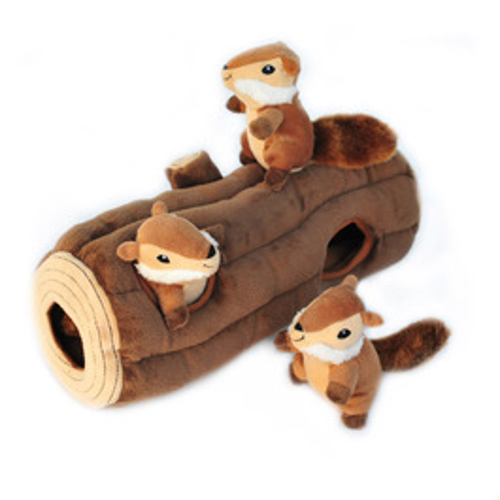 ZippyPaws 益智躲貓貓-開心花栗鼠之家 有聲玩具